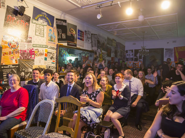 Mug and Kettle Comedy March 2015 room shot feat crowd copyright Time Out Sydney photographer credit Anna Kucera