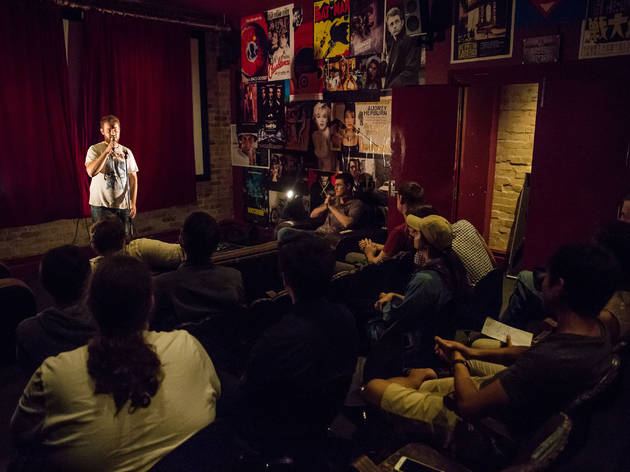 POS Comedy April 2016 Newtown Hotel image courtesy Sam Kissajukian