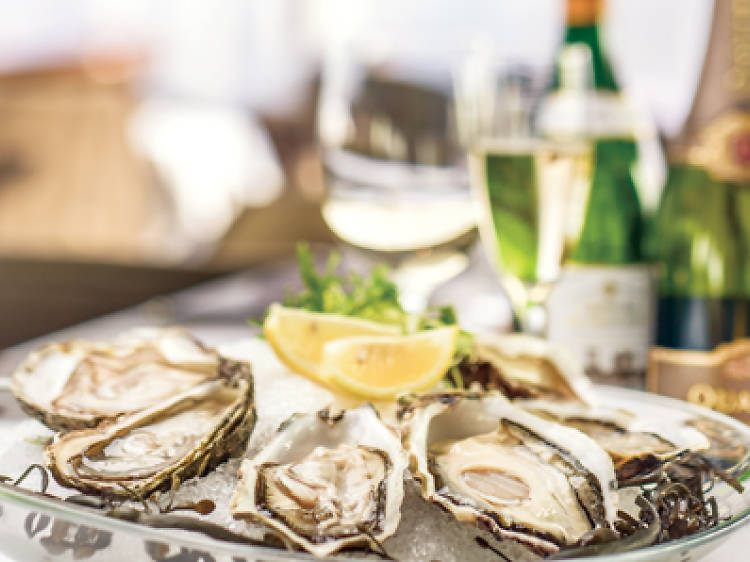 Hong Kong's best oyster and wine pairings
