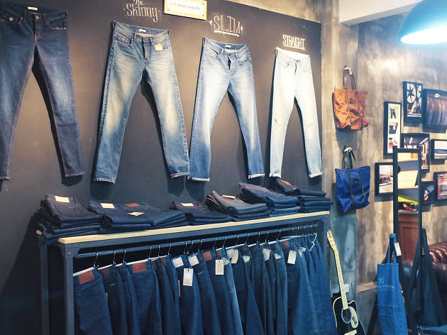 Custom Handcrafted Denim at Siam Square Soi 2