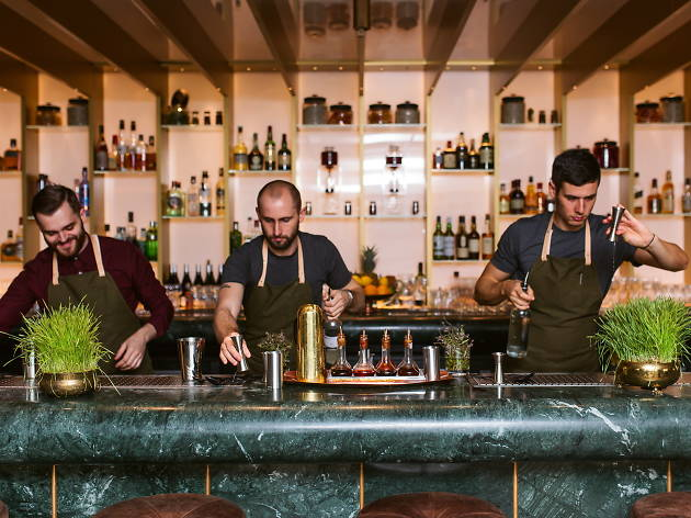 The Best Bartender or Team shortlist