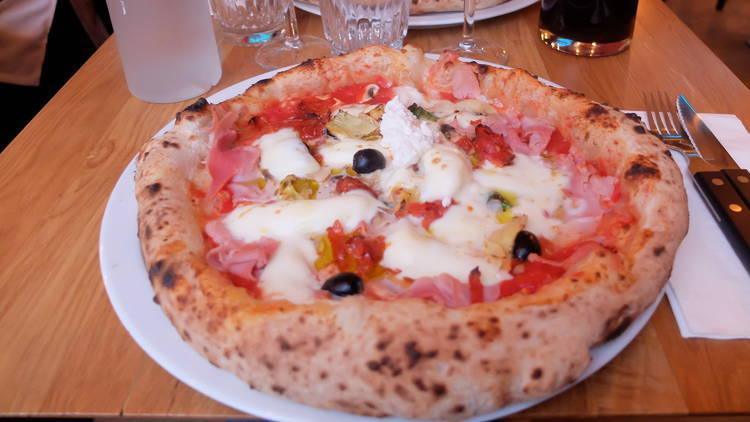 Vivre la dolce pizza