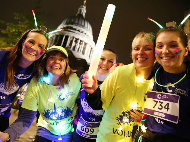 Shine through the night and help beat cancer