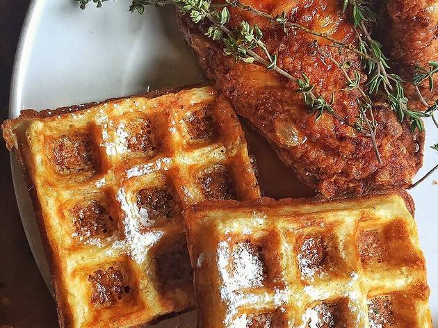 The best chicken and waffles in SF