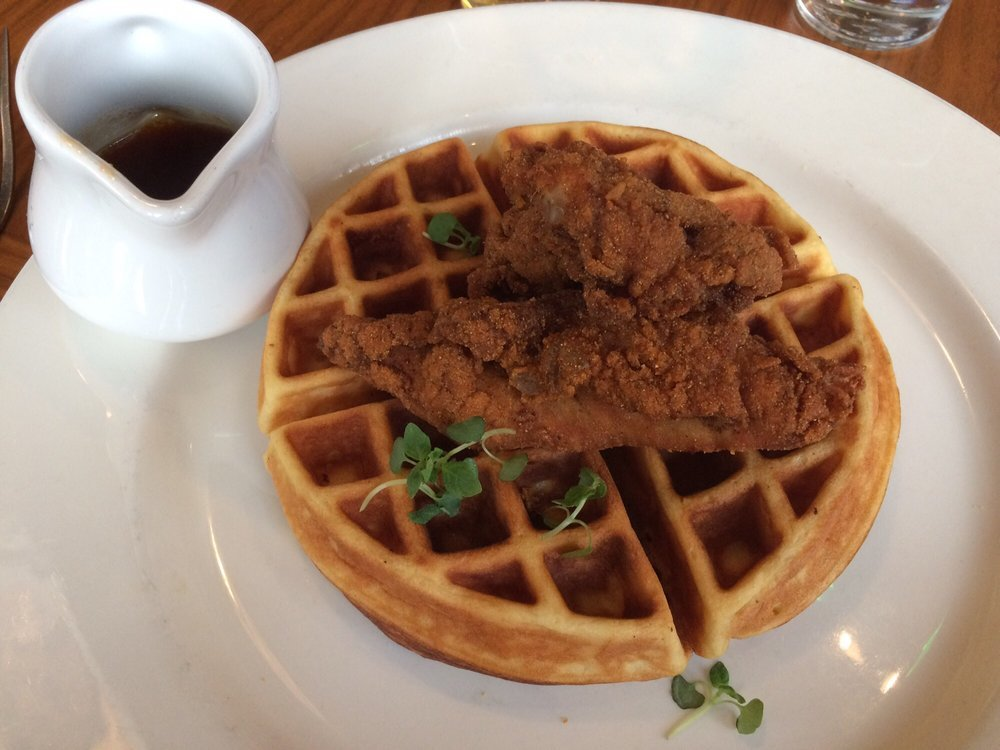 Chicken and waffles at 1300 on Fillmore