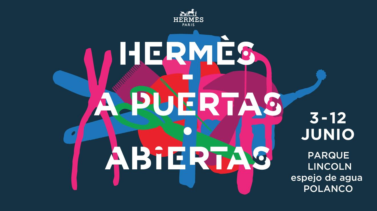 Hermès a Puertas Abiertas