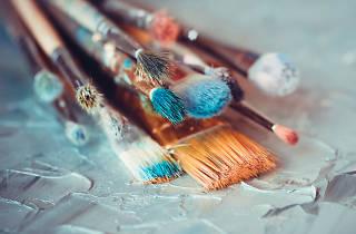 Pintura, bastidores, la plataforma curatorial, convocatoria
