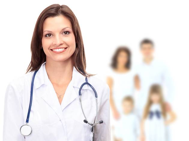 Generic doctor for GMHBA Health Insurance advertorial