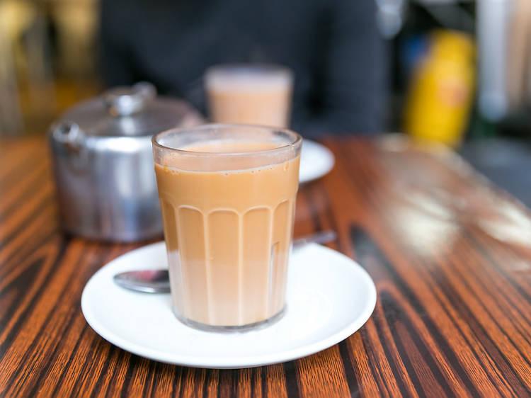 The best Hong Kong milk tea