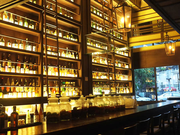 a cocktail club and entertainment at Sathorn