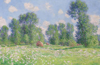 Effet de Printemps à Giverny by Claude Monet