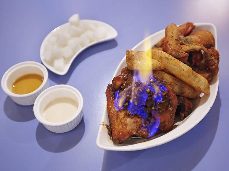 The best fried chicken for finger lickin'