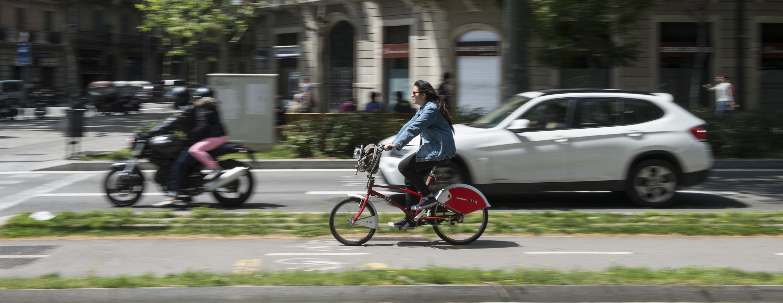 Rutes per fer amb el bicing a Barcelona