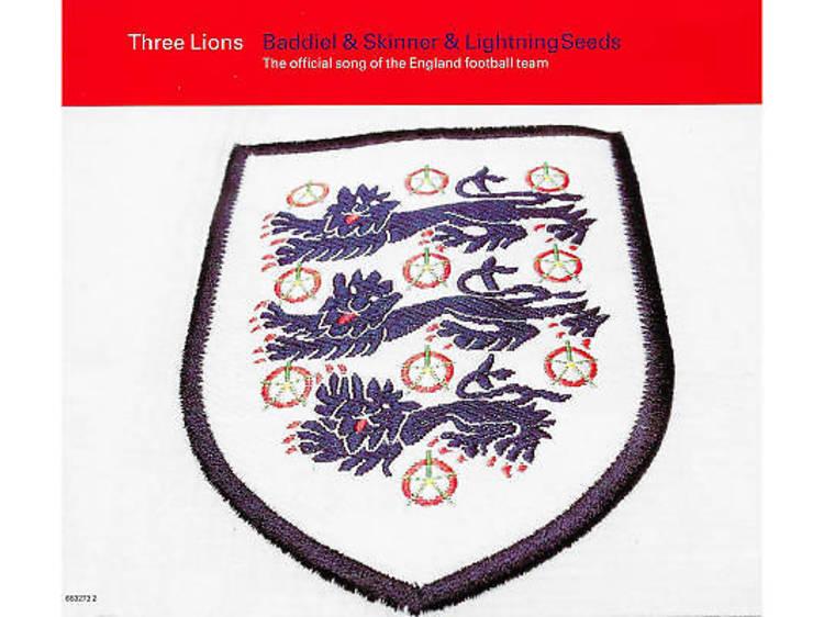 'Three Lions' – Frank Skinner, David Baddiel & The Lightning Seeds (1996)