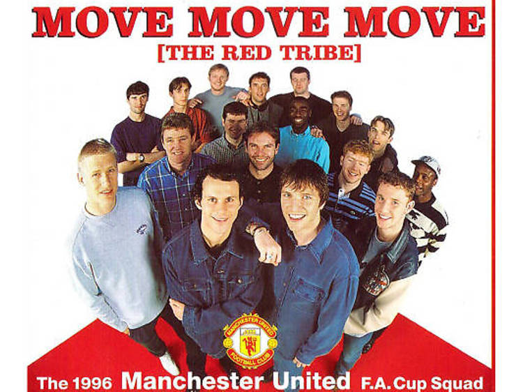 'Move Move Move (The Red Tribe)' – Manchester United FC (1996)