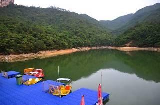 Shot of reservoir at Wong Nai Chung