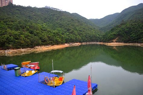 Shot of reservoir at Wong Nai Chung