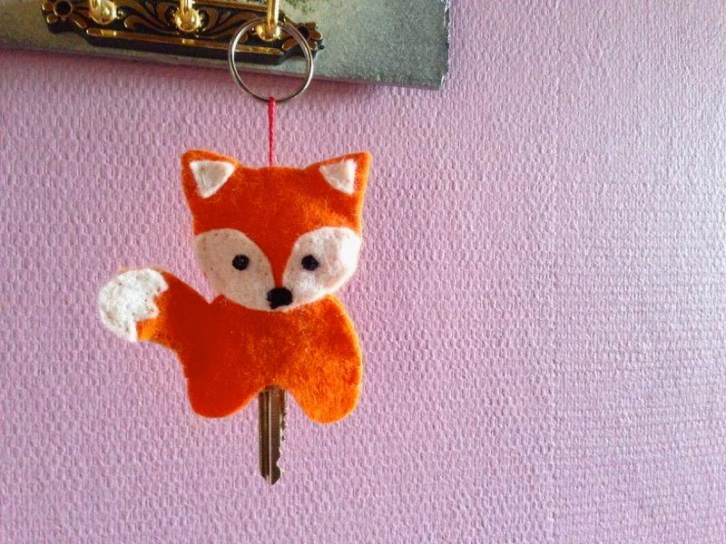 Un porte-clés renard