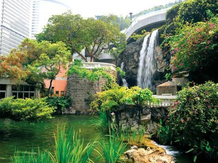 Spend your day at Hong Kong Park