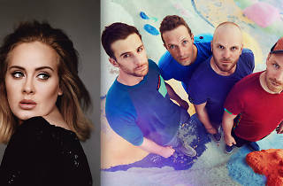 Adele, Coldplay