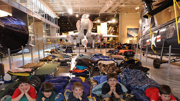 The Intrepid is hosting three family sleepovers this summer