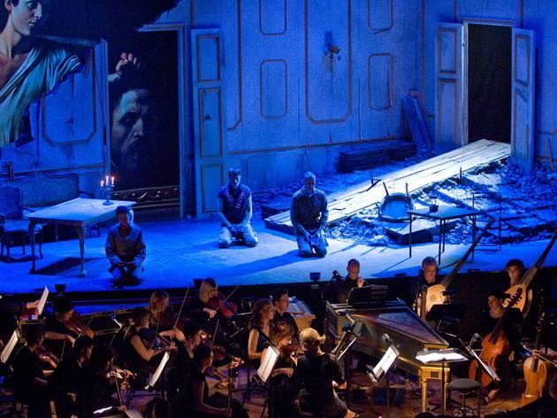 Pinchgut Opera, DAVID & JONATHAN, City Recital Hall Angel Place, Sydney.  Photographer:Sarah Puttock
