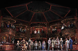 La boheme 2016 Opera Australia MELBOURNE SEASON photographer (c) Opera Australia photographer credit Jeff Busby