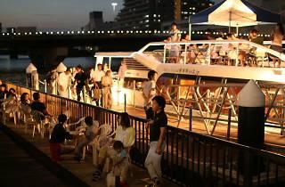 初夏の船カフェ1