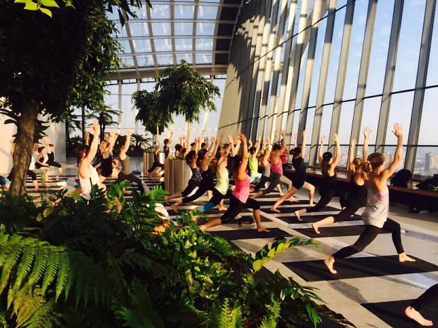 Sky High Yoga, Sky Garden