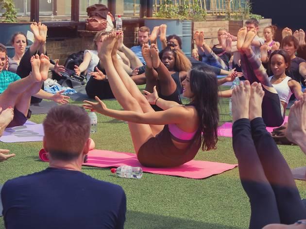 Fat Buddha Yoga, Dalston Roof Park