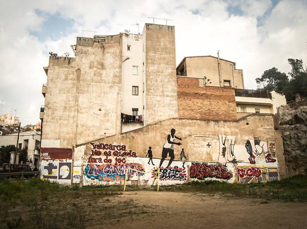 Ruta urbanisme especulatiu a Vallcarca