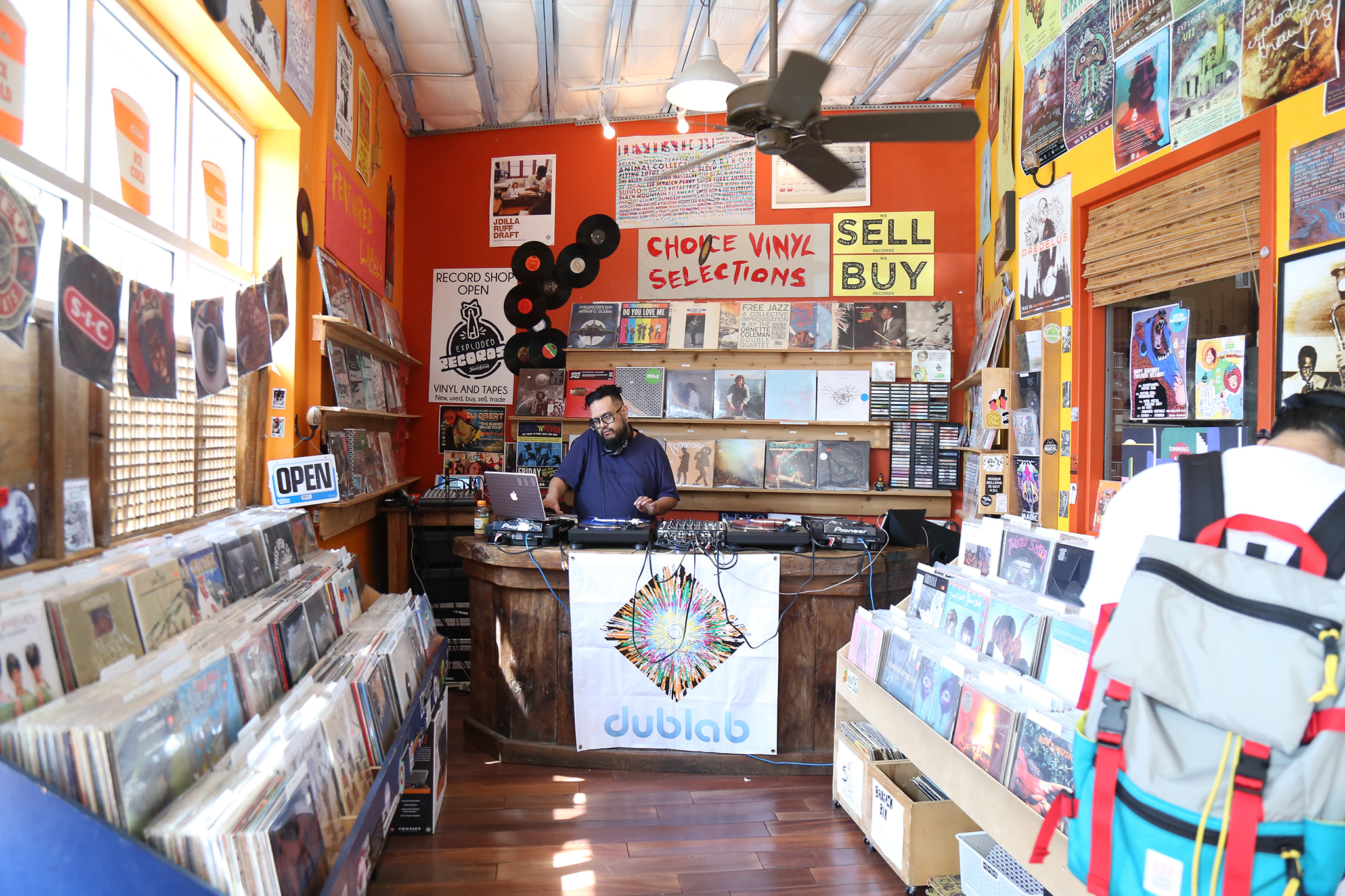 Exploded Records at JuiceLand