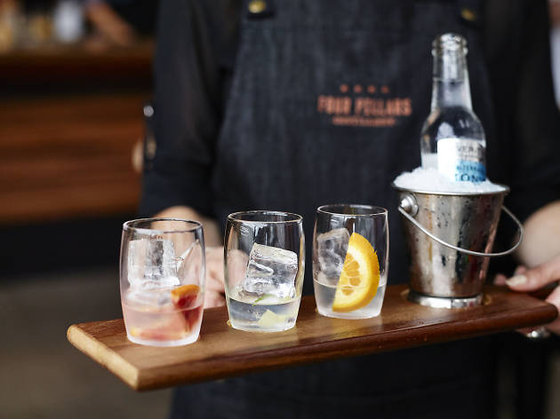 World Gin Day at Four Pillars Distillery