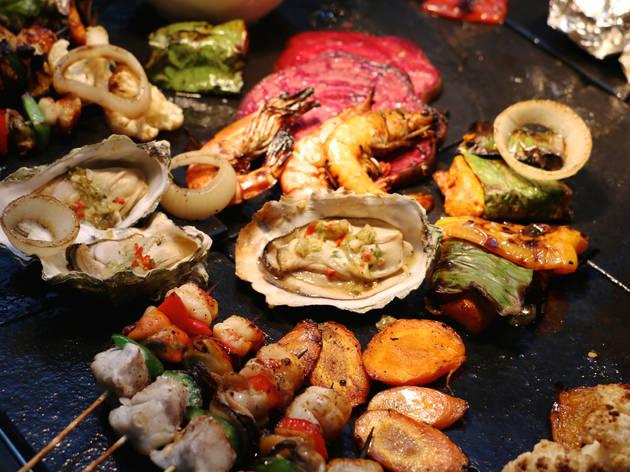 Lemon Garden Café Thursday BBQ dinner buffet