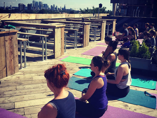 The best rooftop yoga classes in London, yogarise