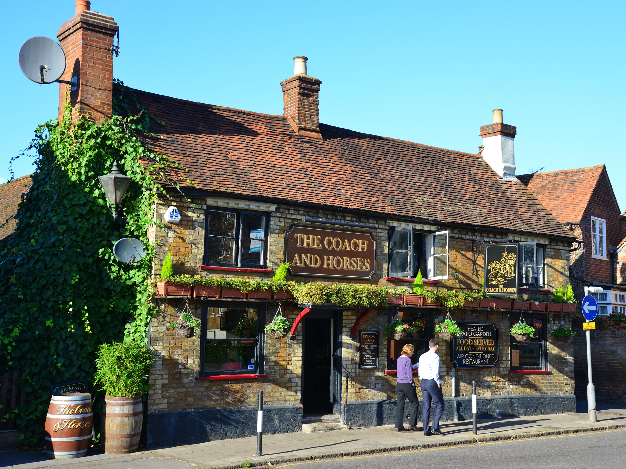 Ten perfect country pubs within reach of London
