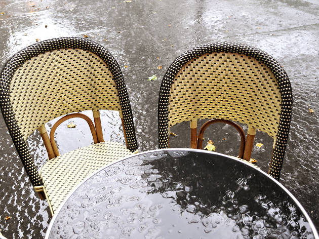 Paris pluie