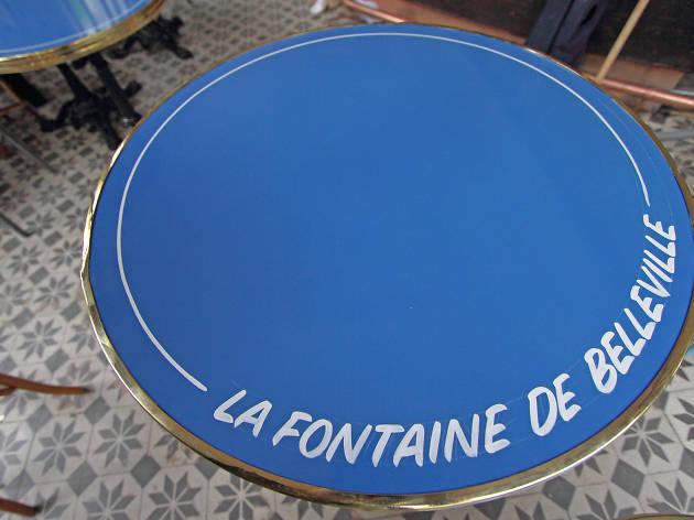 La Fontaine de Belleville café bistrot colonel fabien brûlerie
