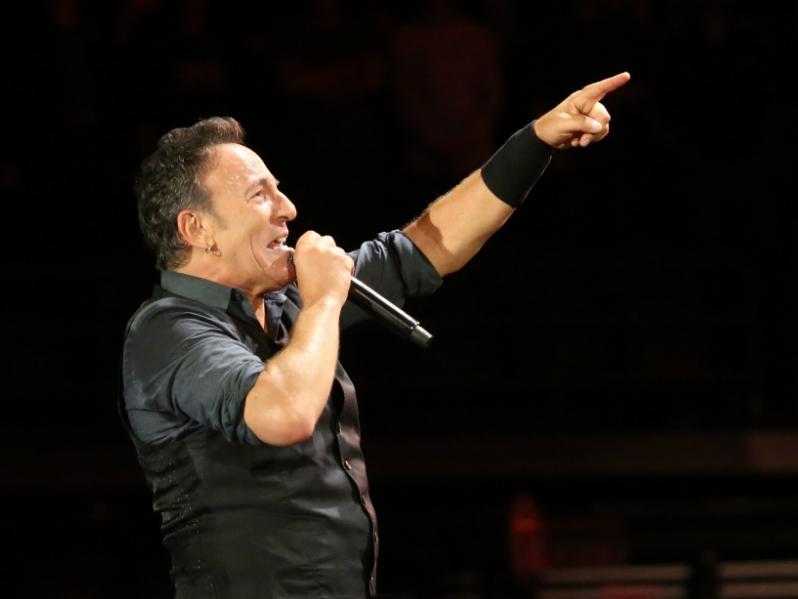 Bruce Springsteen from Flickr - Shayne Kaye