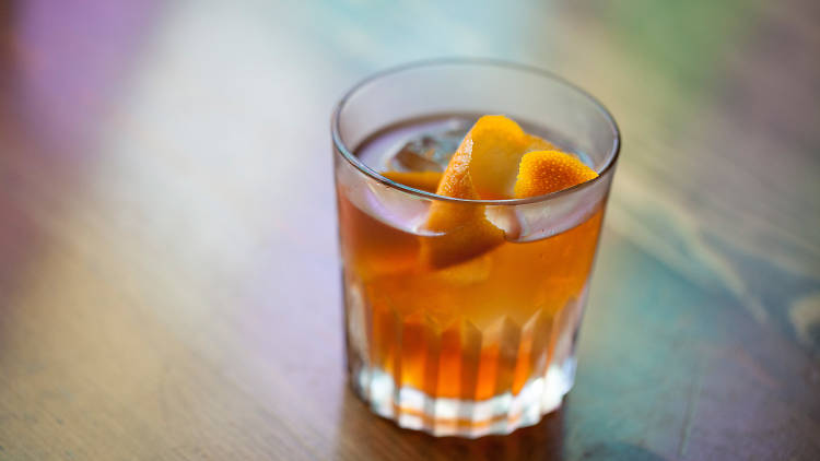 Classic Old Fashioned at Old Man Bar