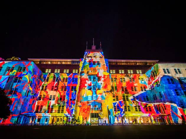 MCA at Vivid Lights 2016