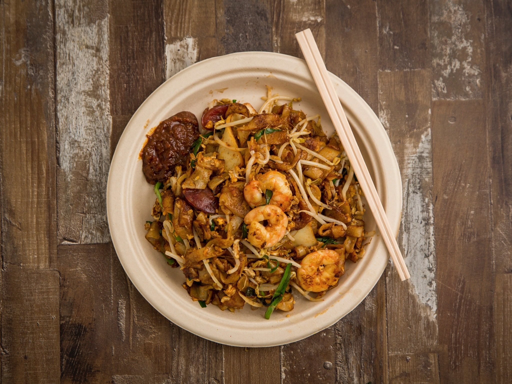 Penang char kway teow at Old Jim Kee at Spice Alley