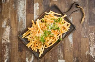 Kimchi fries (Photograph: Anna Kucera)