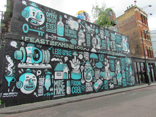 London's best street art galleries