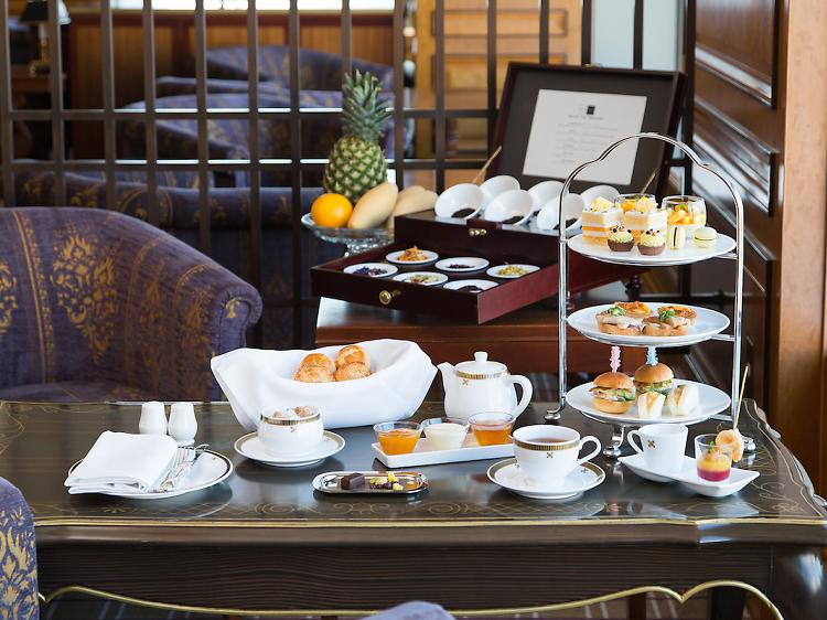 帝国ホテル東京:インペリアルラウンジ アクア