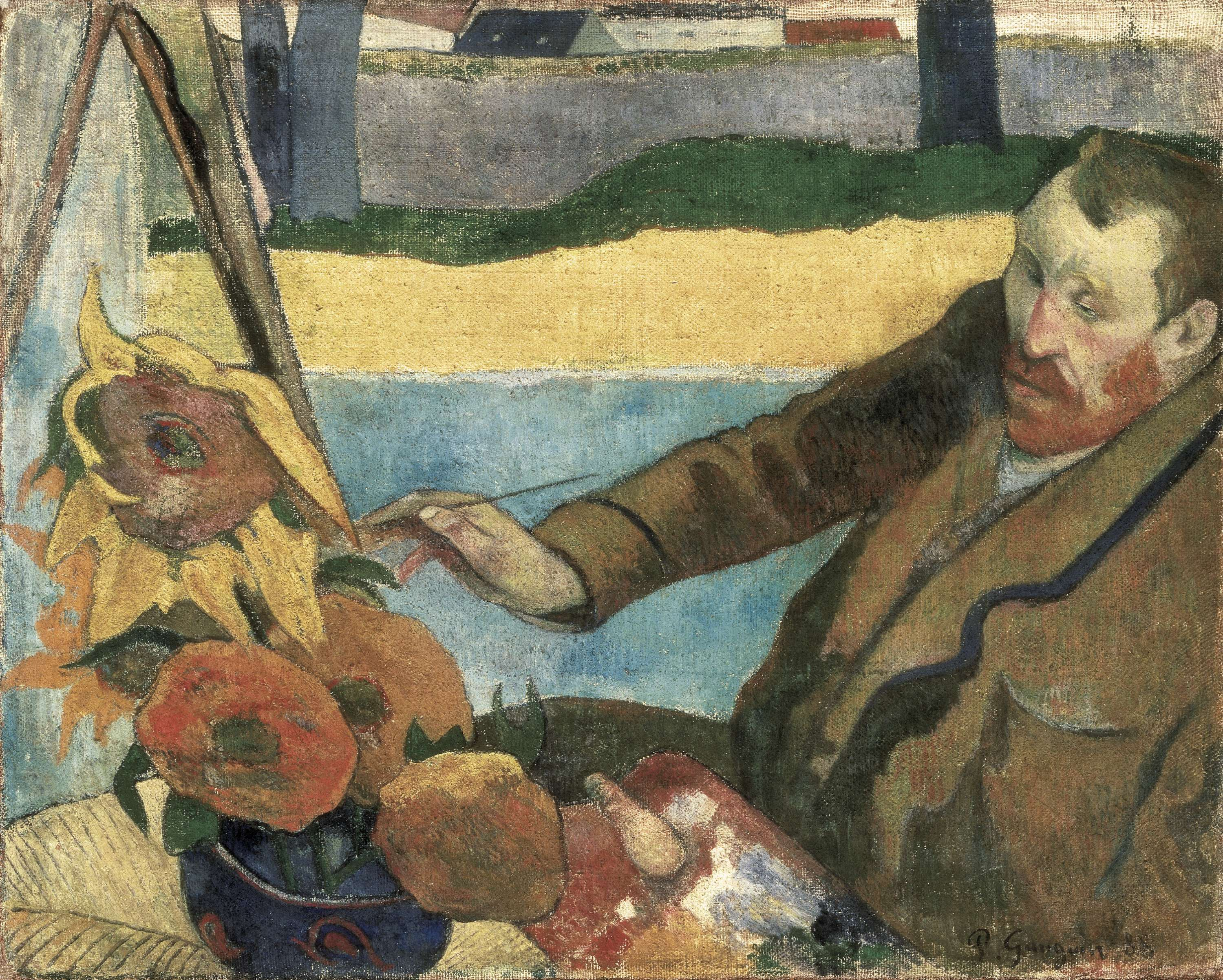 Van gogh par paul gauguin