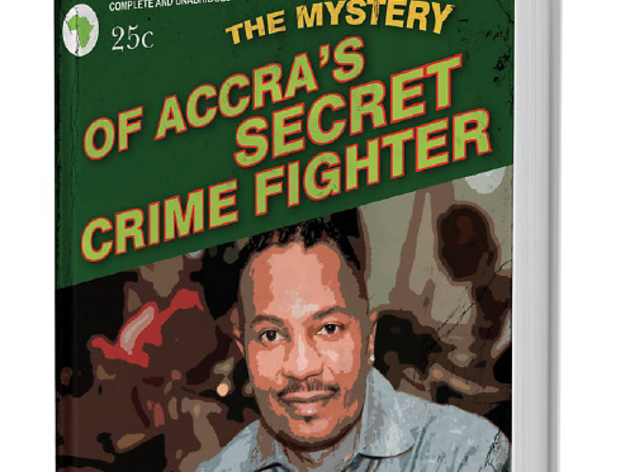 The mystery of Accra's crime writer