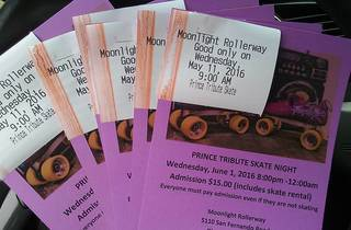 Prince Tribute Skate Night