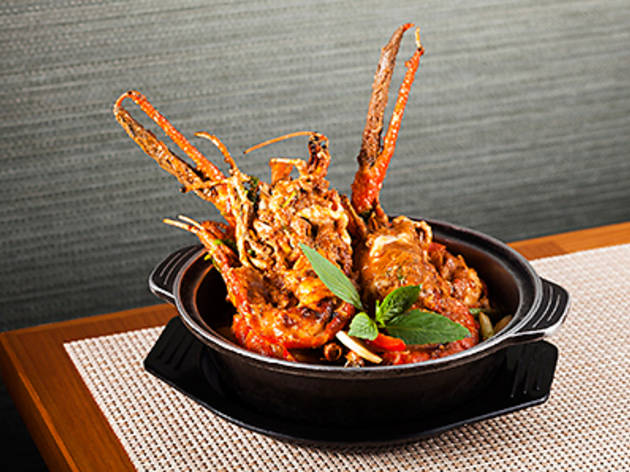 Mekong River Prawns in Clay Pot (An Nam)