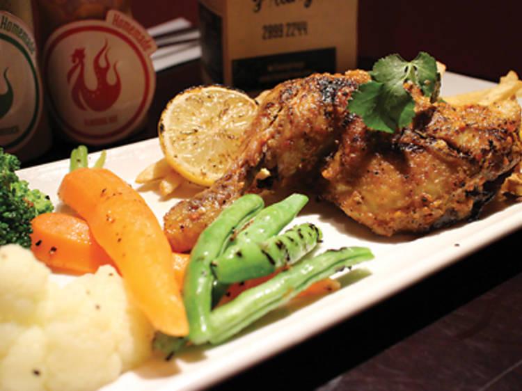 Piri piri chicken (Flaming Frango)